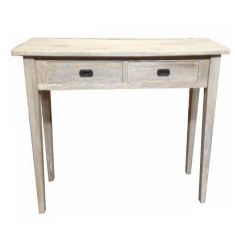 Hampton Oak Grey Washed Hall Table