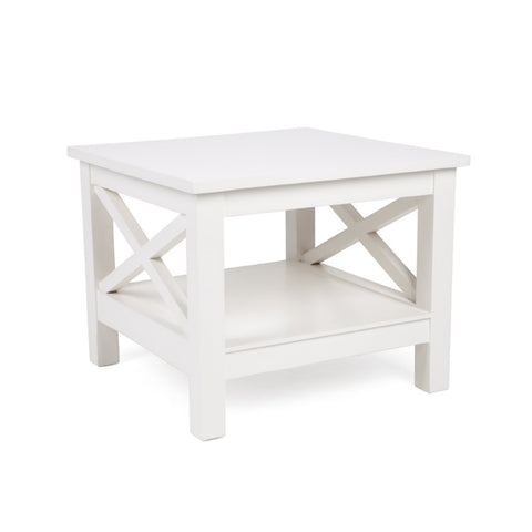 Hampton Cross Side Table