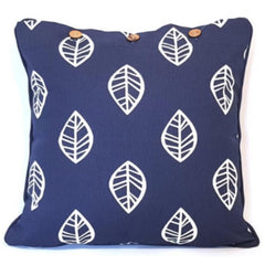 Cushion CS COVER ONLY NW Leaf Navy