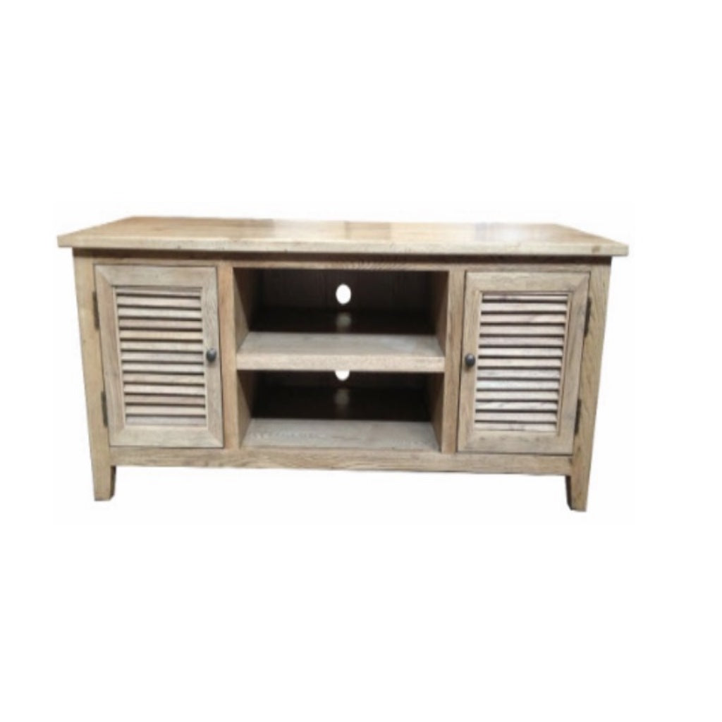 Louvre Oak 2 Door Entertainment Unit