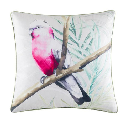 Cushion Cover & Insert Pink Parrot