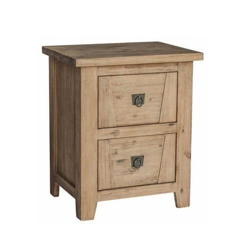 Potter's Barn 2 Draw Bedside Table