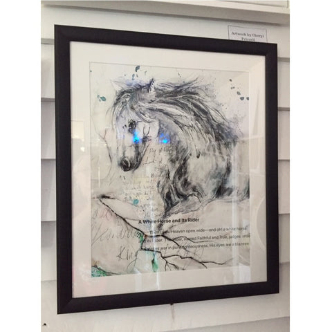 "Framed Print ""The Revelation Horse"""