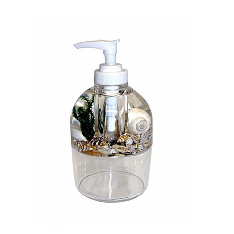 Shell Acrylic Soap Dispenser