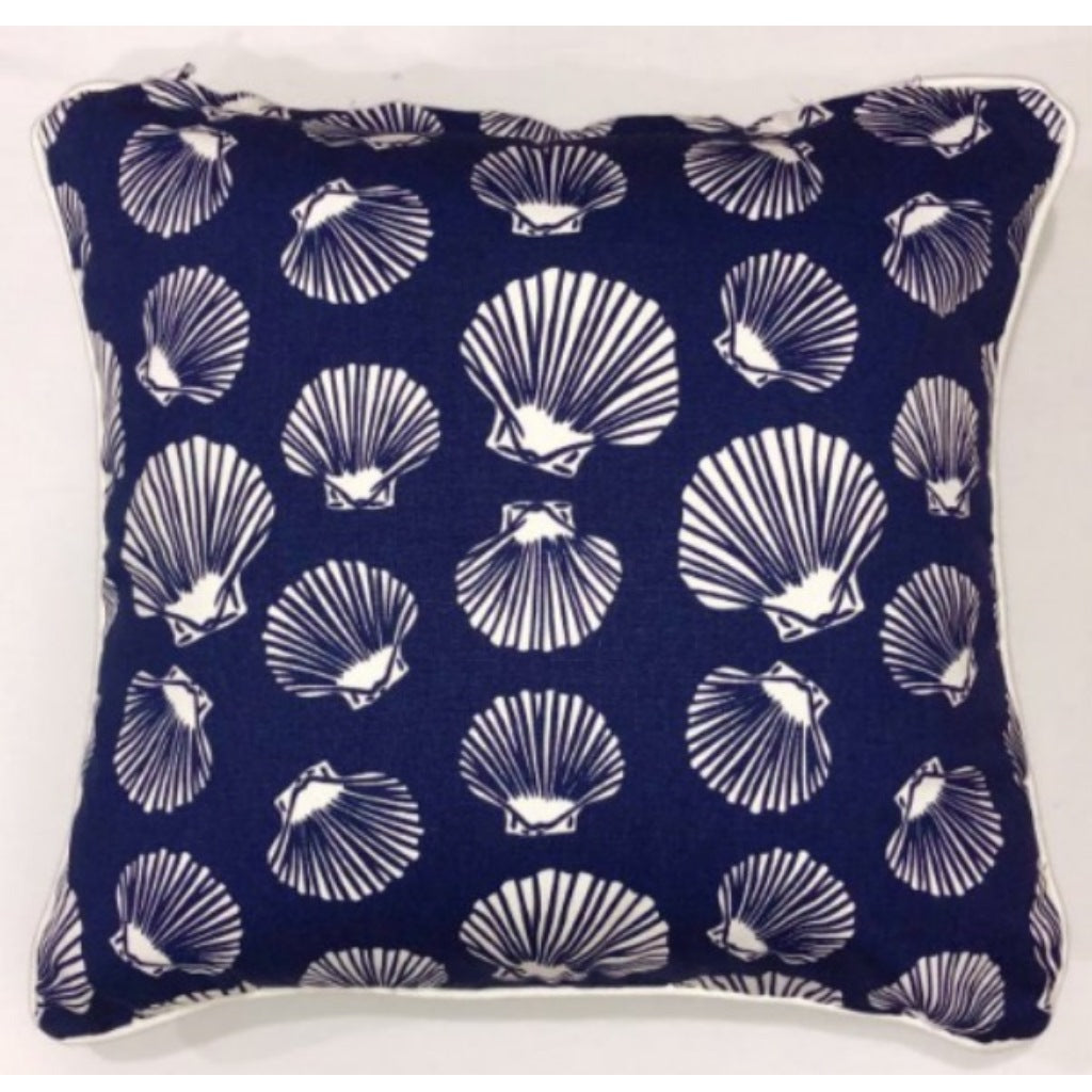 Cushion CS COVER ONLY NW Shell White on Navy
