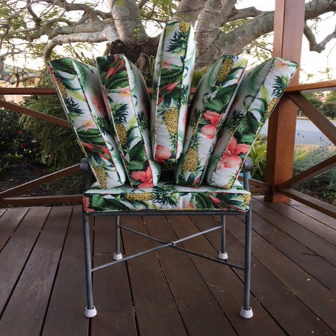6 Tommy Bahama Fabric Outdoor Chair Cushions