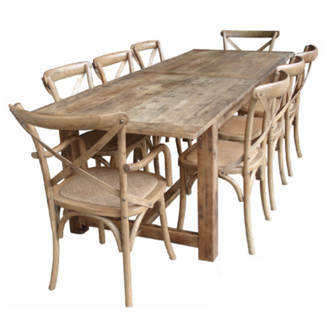 Table Rustic Farmhouse