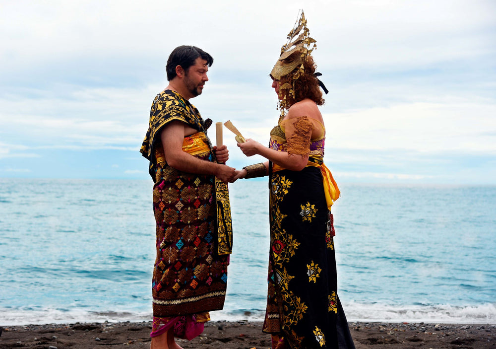 Traditional Balinese Blessing Wedding Ceremony