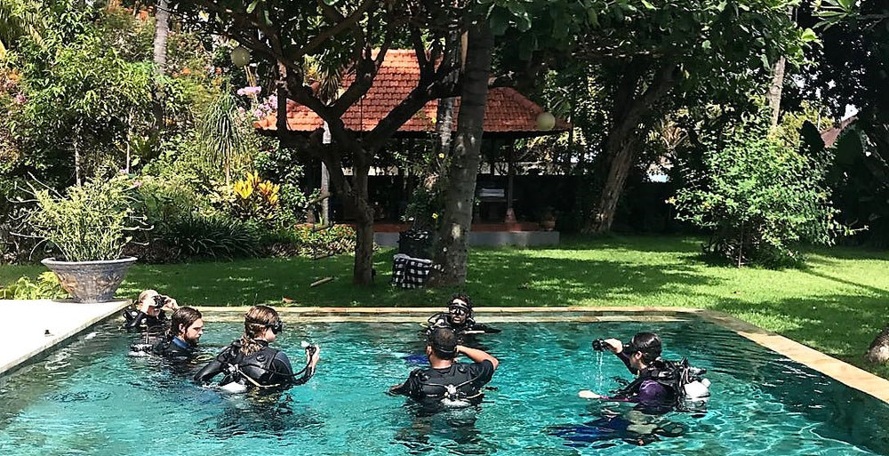 Scuba Diving Training Day + Practice Dive