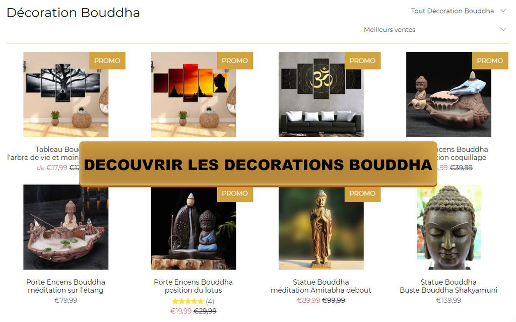 Décoration Bouddha univers Bouddha