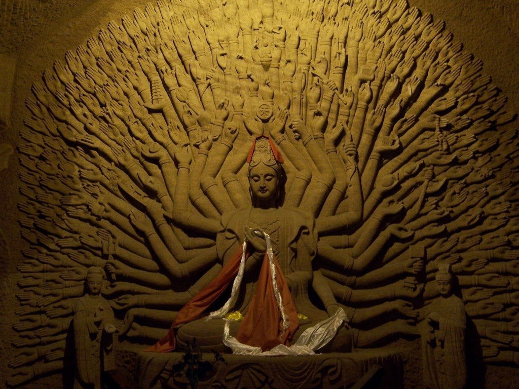 avalokiteshvara sculpture