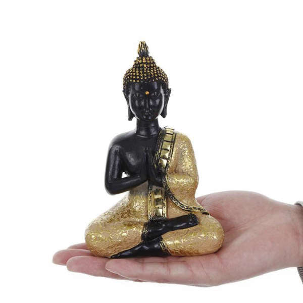 Statue Bouddha Or<br> position du Lotus - [variant_title]