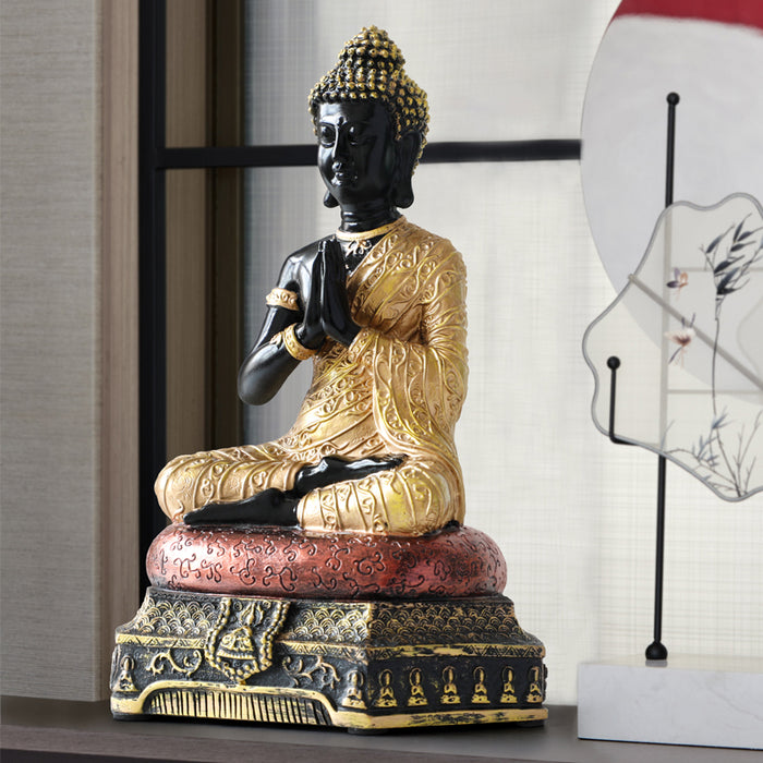 Buddha Statues Thailand for Garden office home Decor Desk ornament fengshui hindu sitting Buddha figurine Decoration - [variant_title]