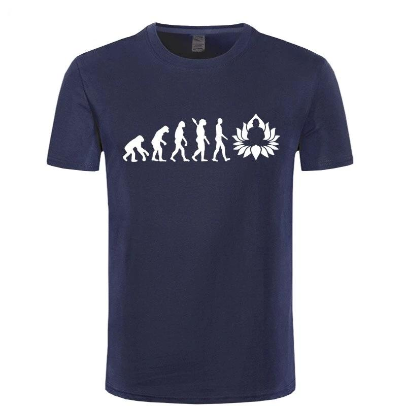 T-shirt Bouddha<br> Evolution Illumination - Univers Bouddha