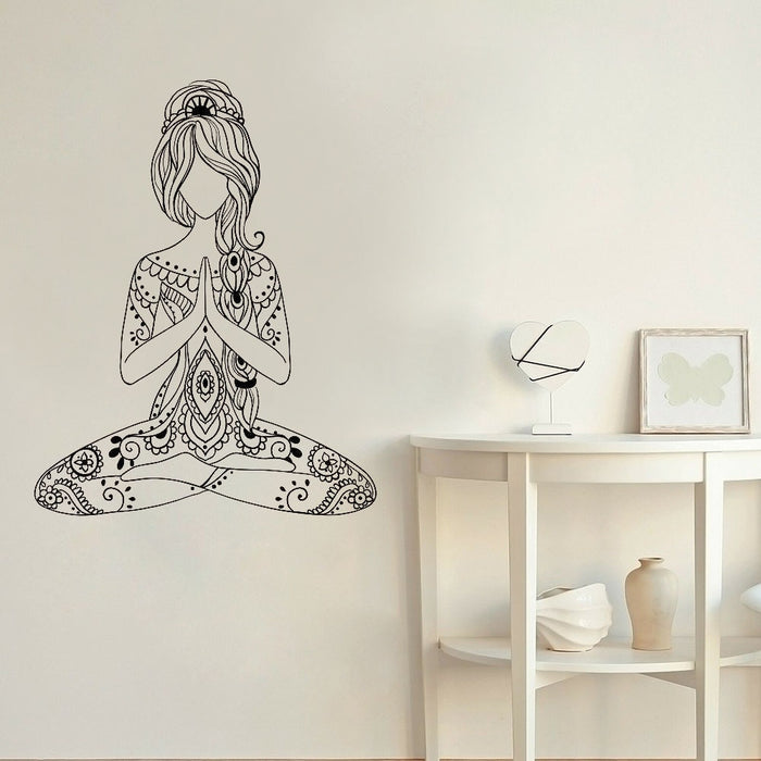 Stickers Bouddha <br> Jeune Fille