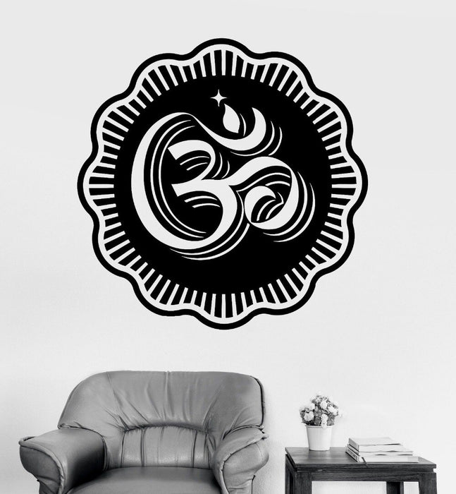 Stickers Bouddha <br> Om