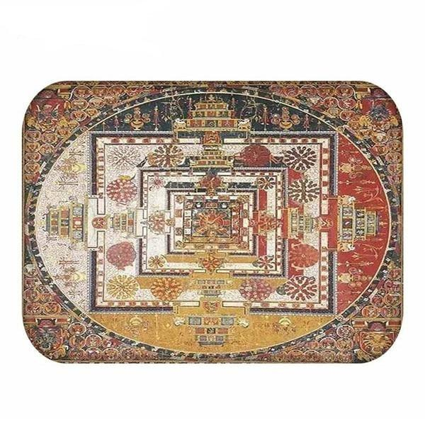 Tapis Bouddha  duplication
