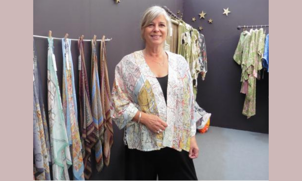 One Hundred Stars Founder of kimono and gown brand