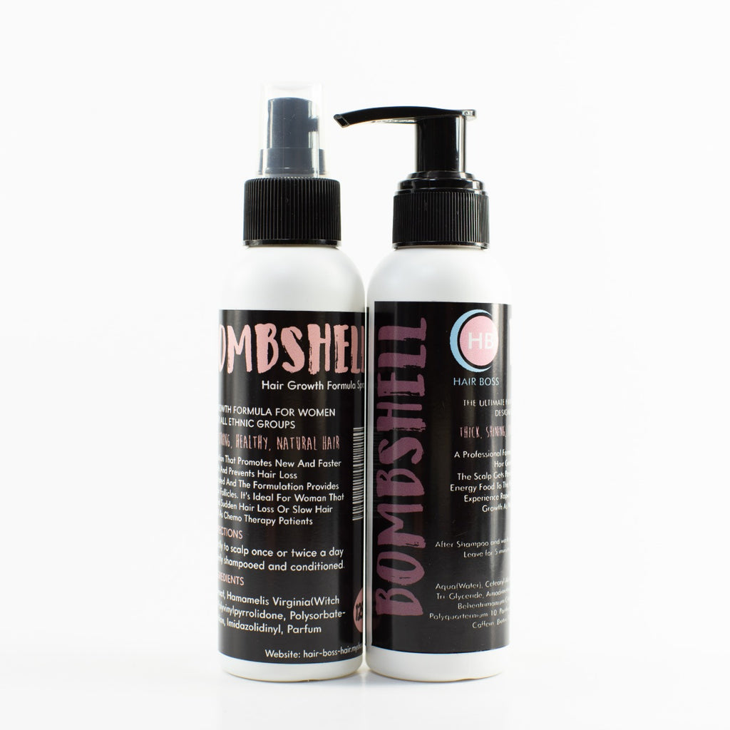 Combo Growth Spray And Growth Treatment To Re-Sell