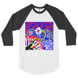 For What It's Worth 3/4 sleeve raglan shirt