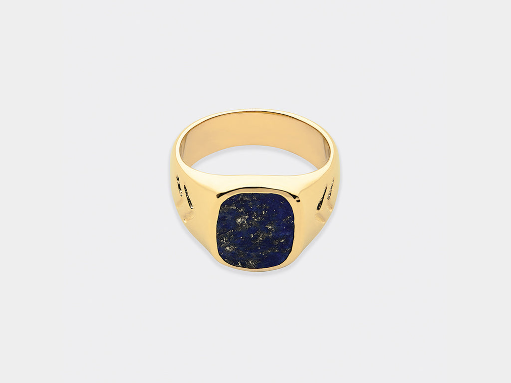 Halsteen Ring | Gold Plated