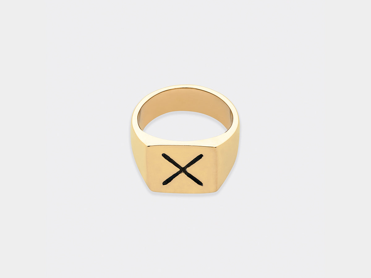 Høeg Ring | Gold Plated