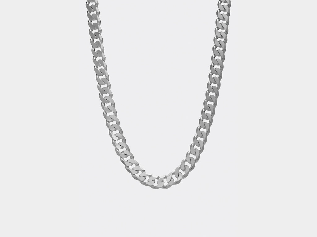Lagerfeld Panzer Necklace | Silver