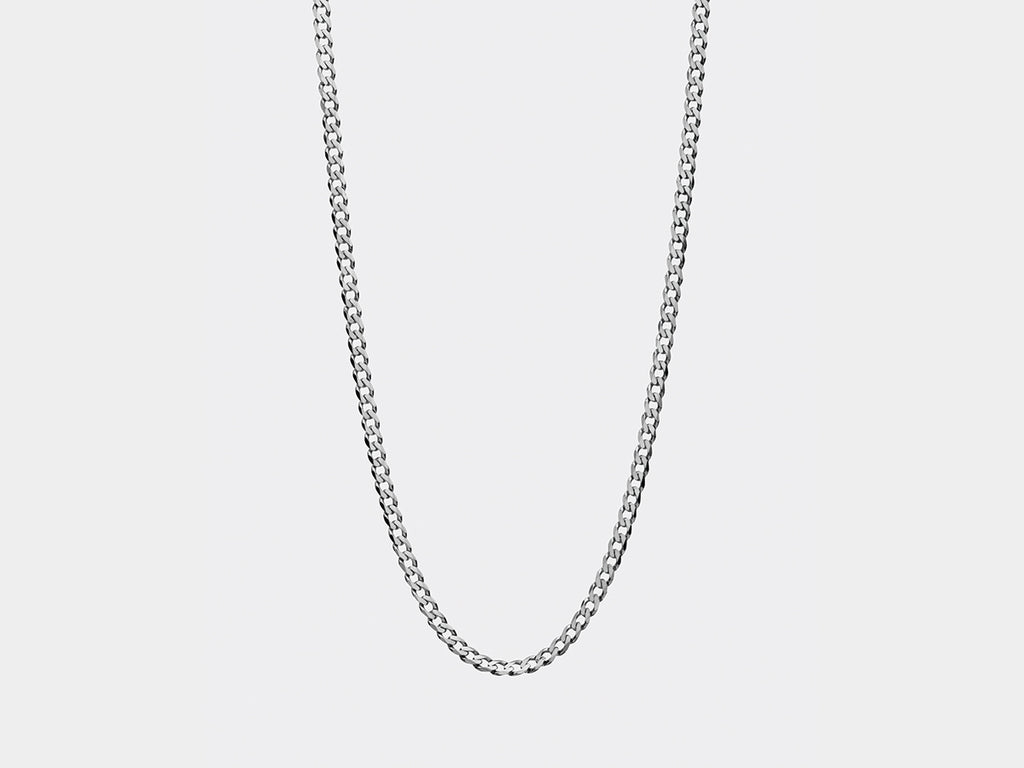 Larsen Panzer Necklace | Silver
