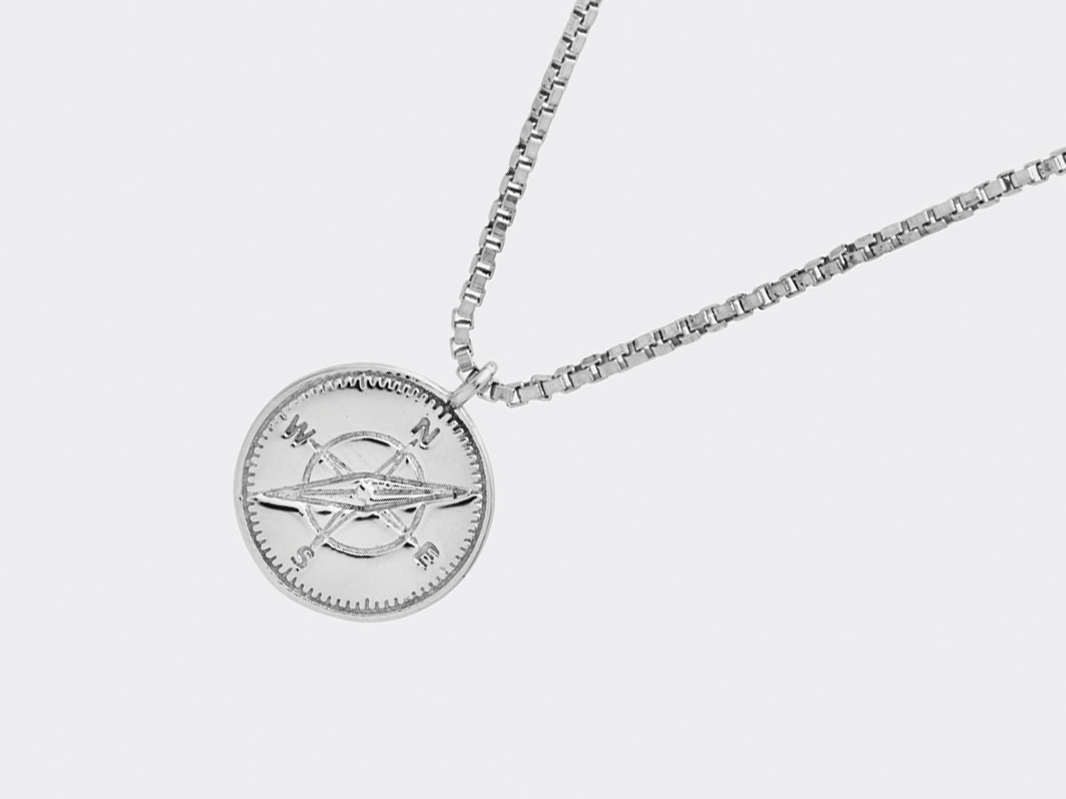 Monfort Necklace | Silver