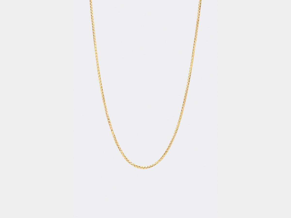 Smidt Necklace | Gold plated