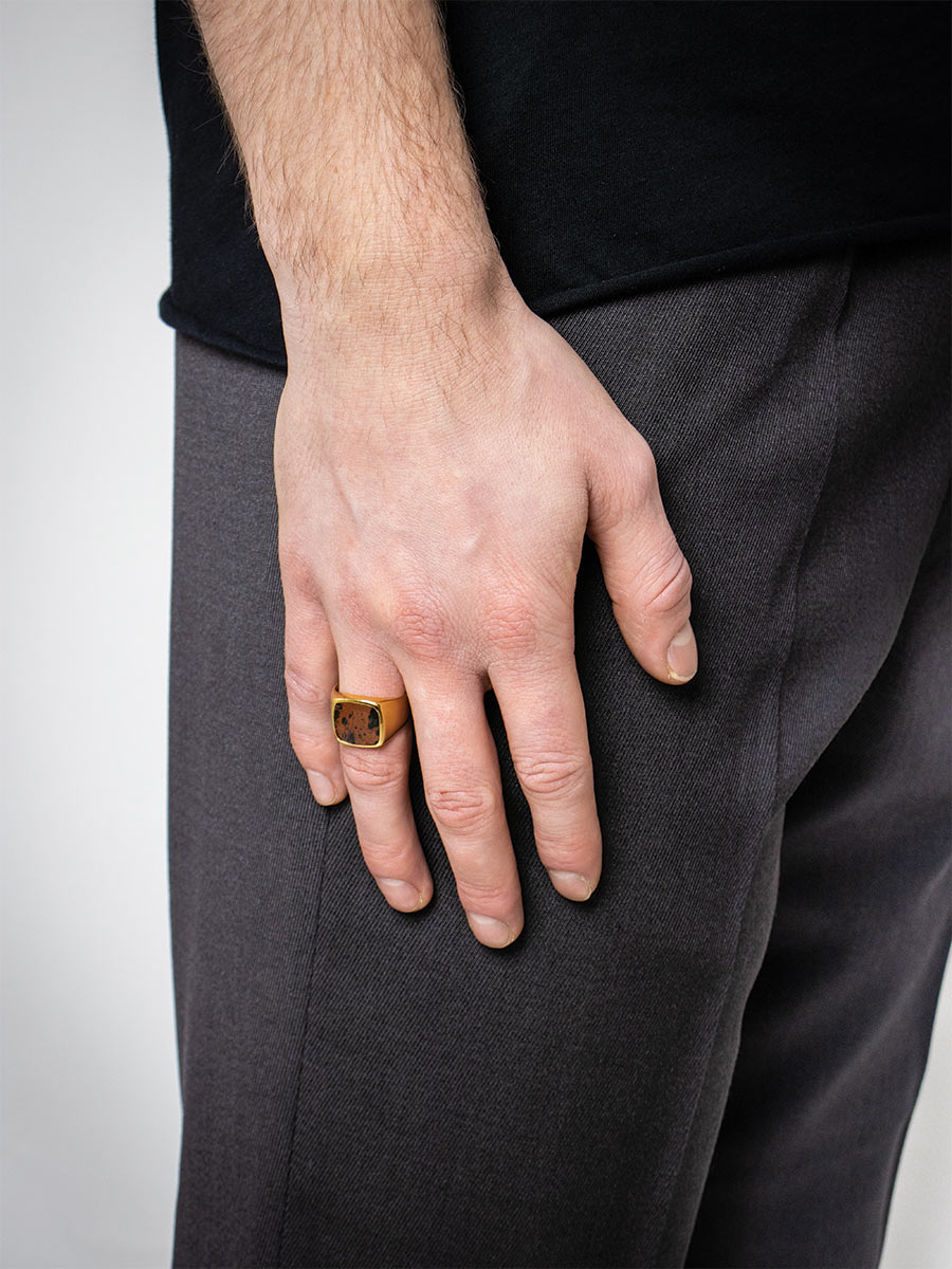 Søndergaard Ring | Gold plated