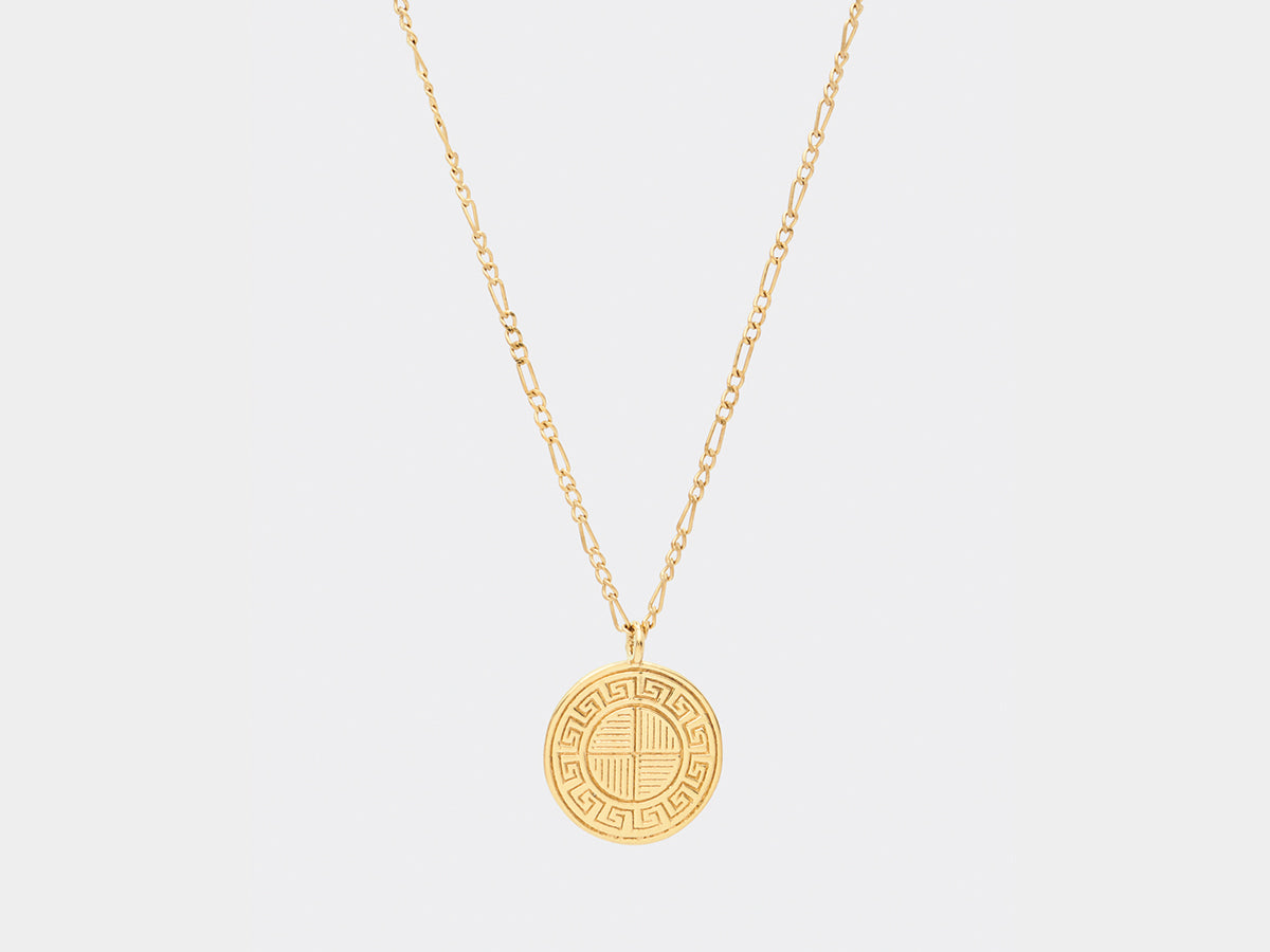 Spillemose Necklace | Gold plated