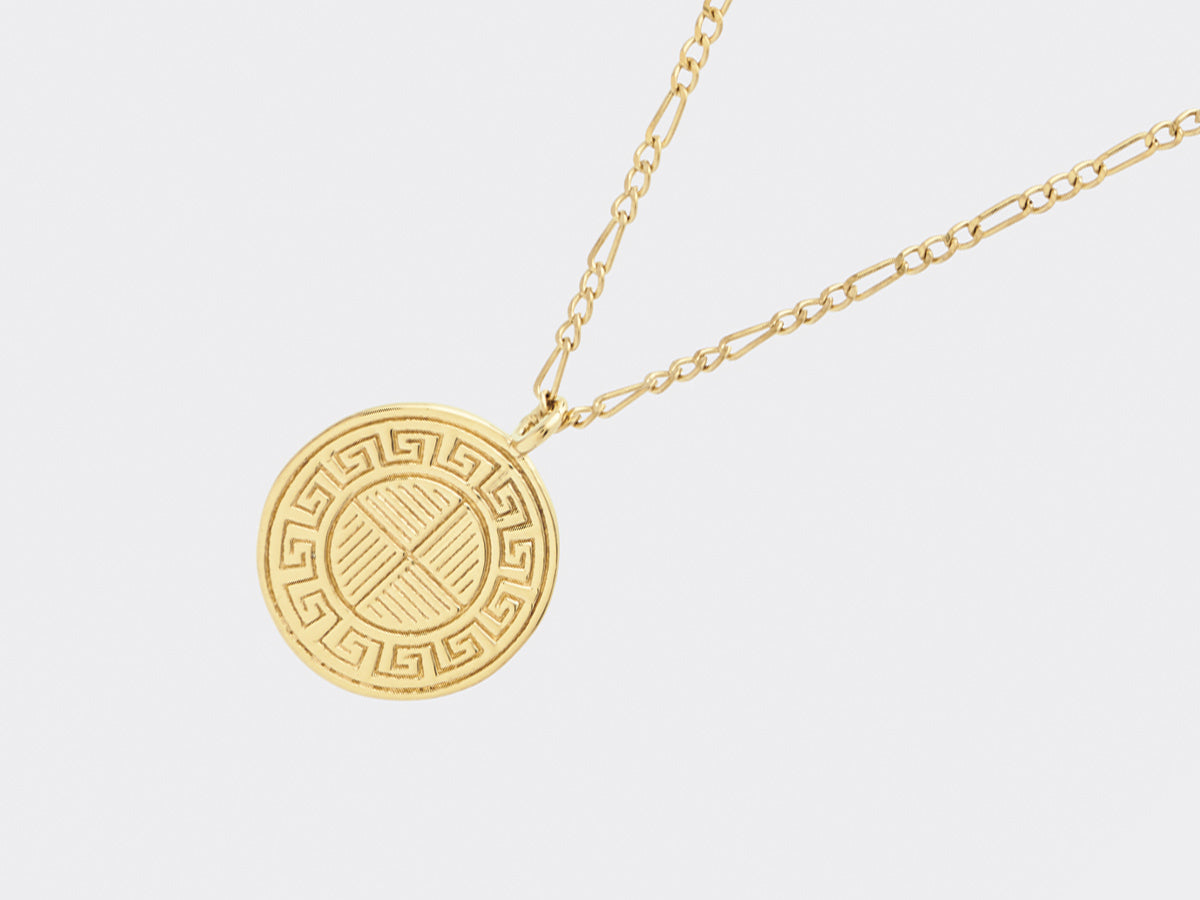 Degner Necklace | Gold Plated