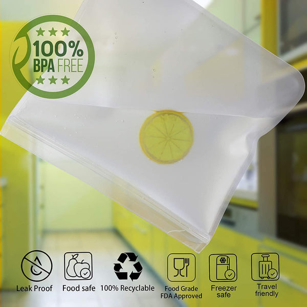 Bio-Zip™ Gallon Set - Only Gallon Bags (5 Pc)