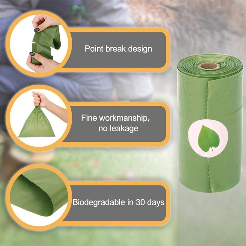 Eco-Waste™ Compostable Dog/Cat Poop Bags