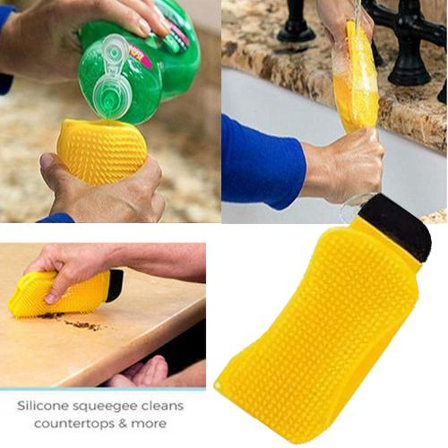 Eco-Scrub™ 3-in-1 Silicone Sponge Alternative