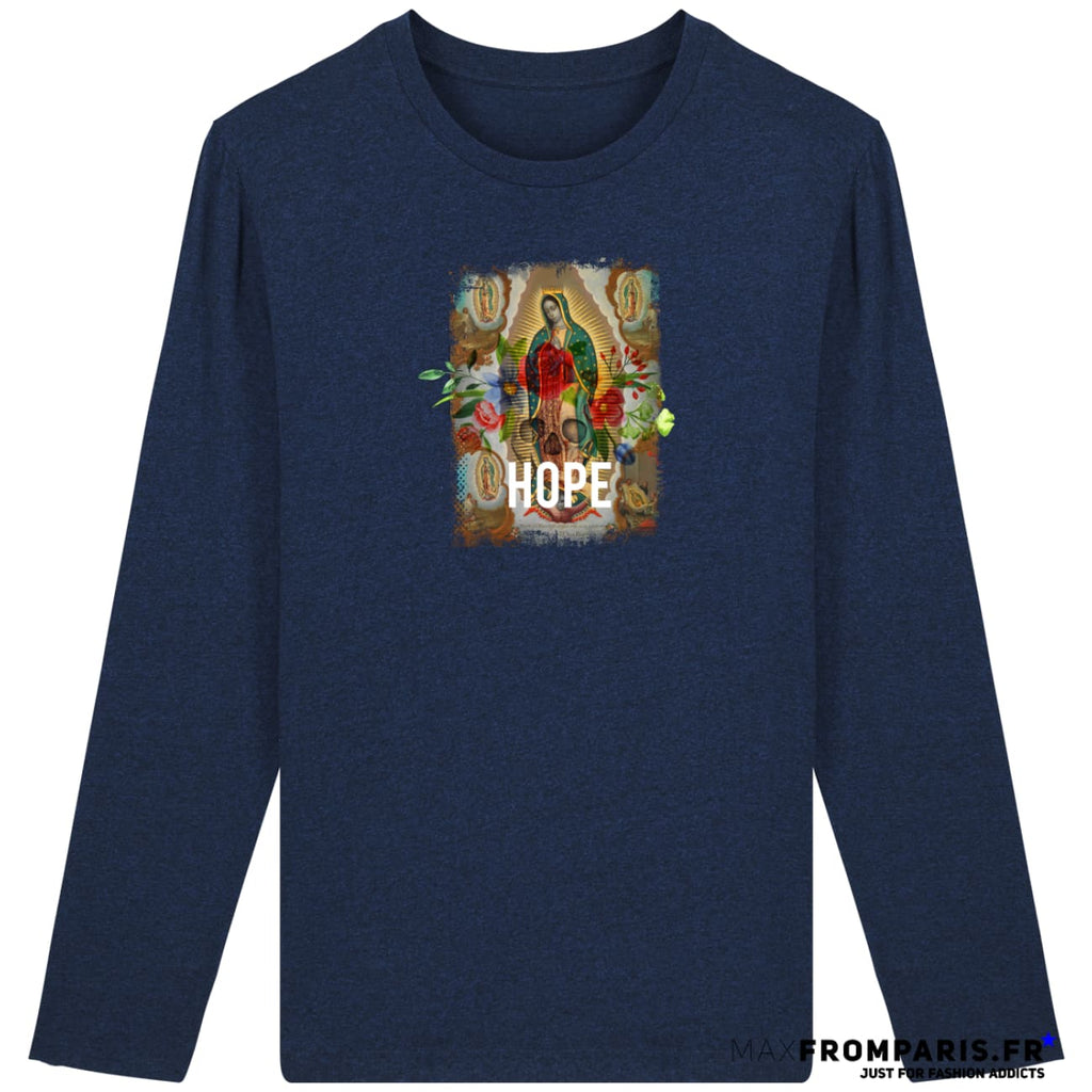 HOPE HOMME - Black Heather Blue / S - Homme>Tee-shirts