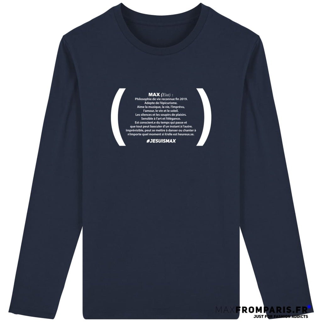 JESUISMAX BY MAX #1 - French Navy / S - French Navy / M - French Navy / L - French Navy / XL - French Navy / XXL - French Navy / 3XL