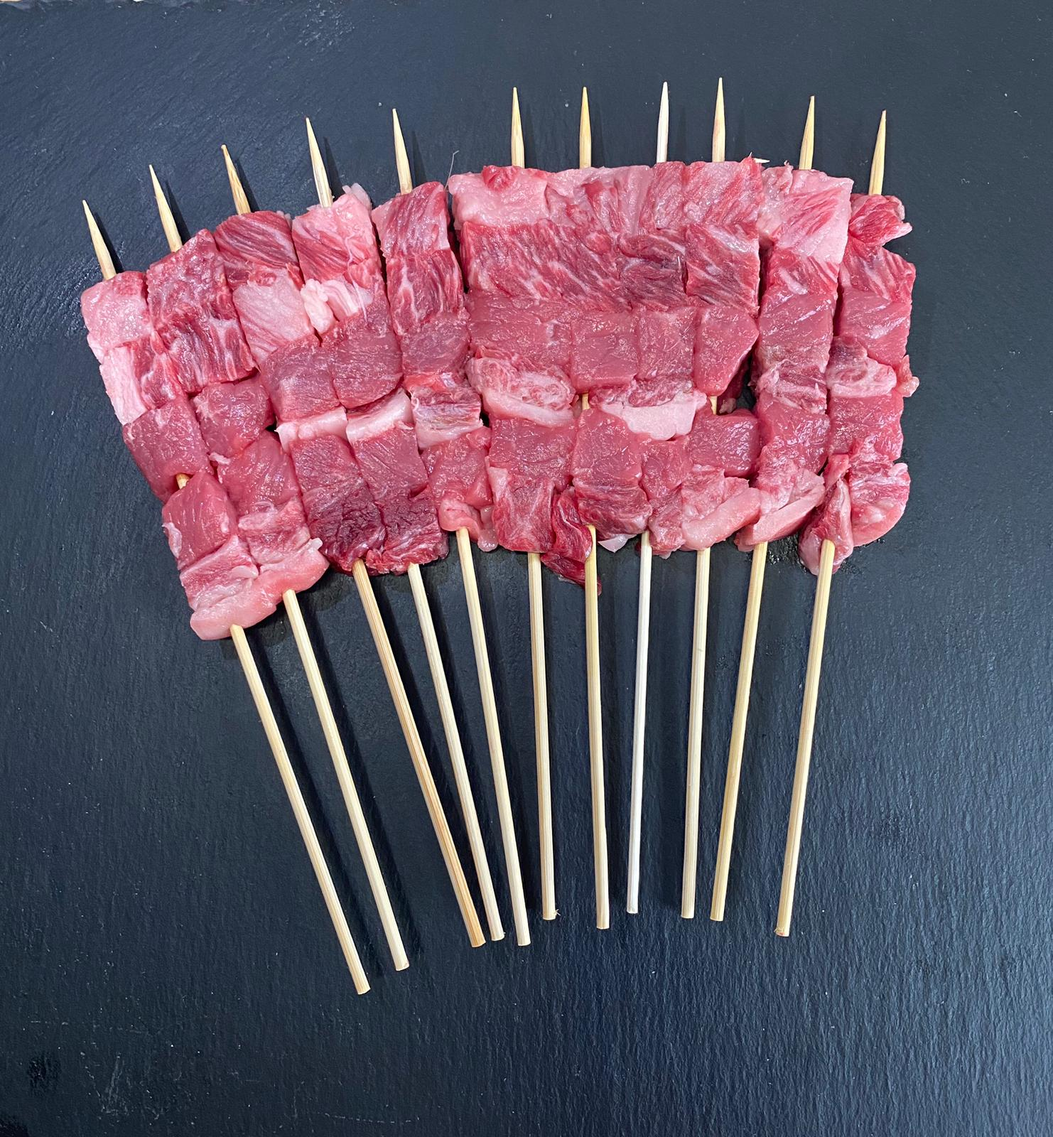 Spiedini Arrosticini Misti Wagyu Japan