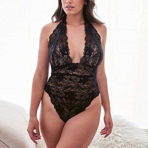 Super Sexy Transparent Plus Size Teddy