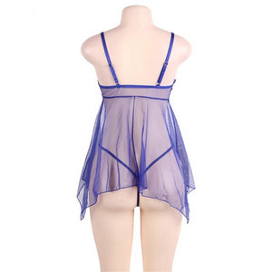 Sexy Baby Doll Plus Size Erotic Lingerie