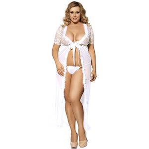 Long Sexy Babydoll Erotic Plus Size Sexy Lingerie
