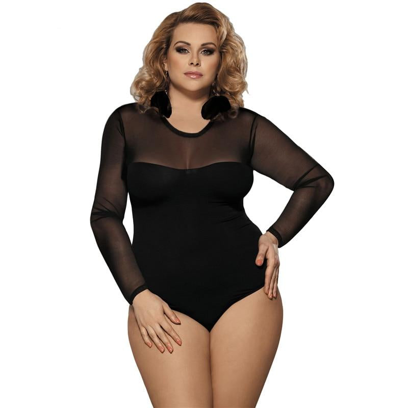 plus size teddy