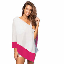 Load image into Gallery viewer, CABANA VACAY-READY CASHMERE PONCHO