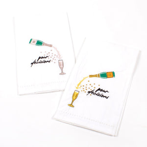 POUR DECISIONS BAR TOWELS- PRE ORDER