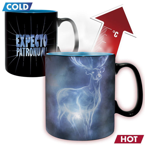 Harry Potter - Patronus Heat Changing Mug - 460ml