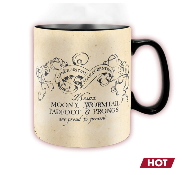 Harry Potter - Marauder's Map Heat Changing Mug - 460ml