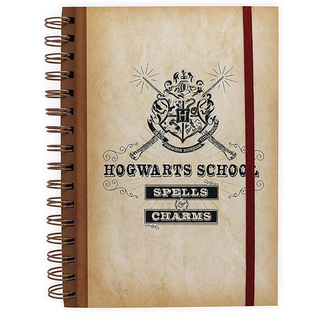 Harry Potter - Hogwarts School Notebook
