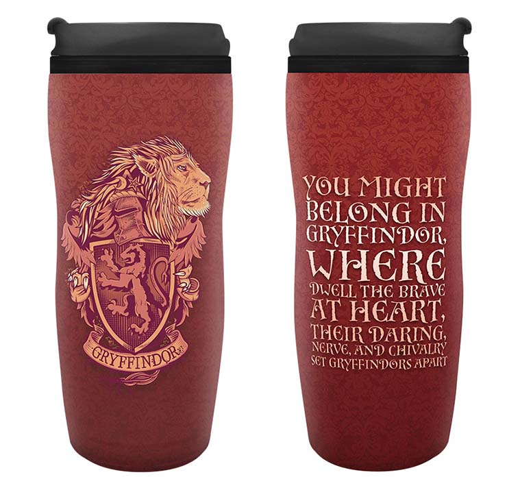 Harry Potter - Gryffindor Travel Mug