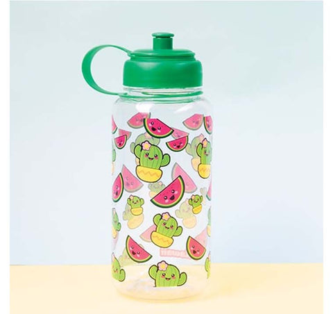 Kawaii - Watermelon & Cactus 1 Litre Waterbottle